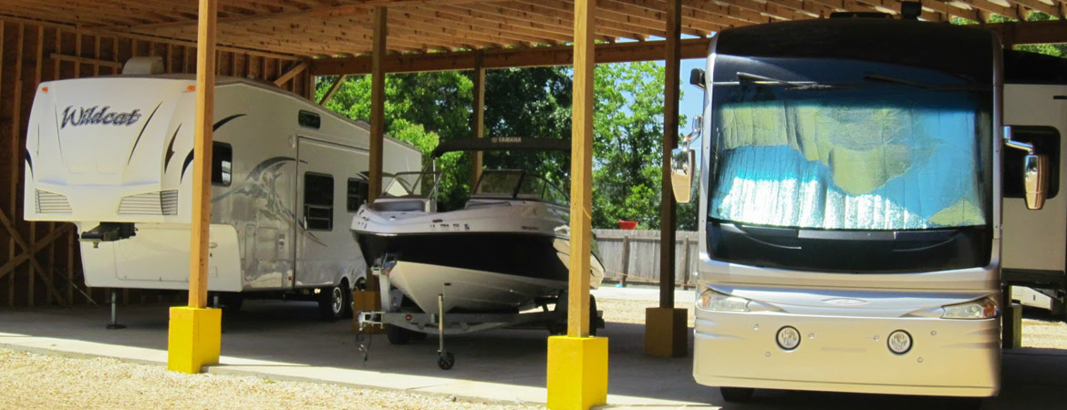 Safe, Secure Boat & RV Storage